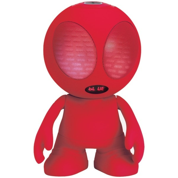 Supersonic Sc-1453Bt Red Bluetooth(R) Alien Portable Speaker (Red)