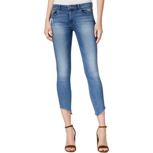 55719ae8ef Shop DL1961 Womens Jeans Denim Uneven Hem - Free Shipping On Orders Over   45 - Overstock.com - 21327610