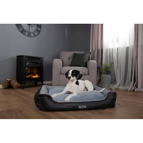 Scruffs Chateau Memory Foam Box Bed - Dove