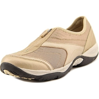 Easy Spirit Ellicott Women Round Toe Canvas Gold Walking Shoe