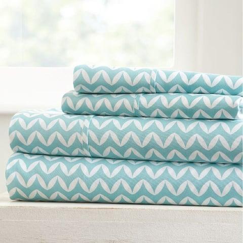 Becky Cameron Ultra Soft Printed 4 Piece Bed Sheet Set