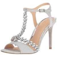Badgley Mischka Women's Maxi Heeled Sandal