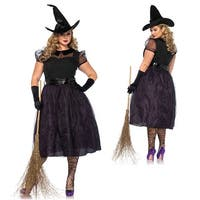 Womens Sexy Darling Spellaster Plus Size Costume