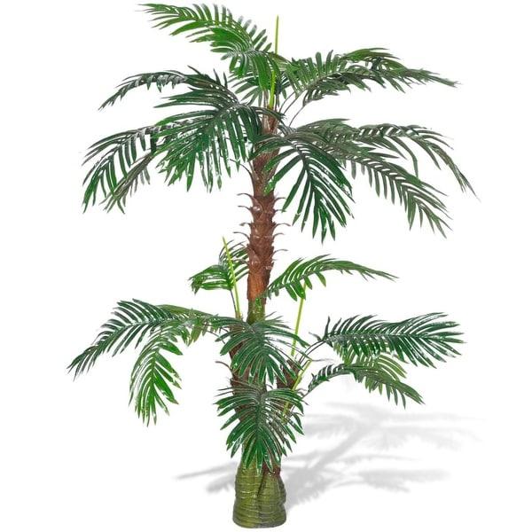 "vidaXL Artificial Plant Cycas Palm Tree 59"""