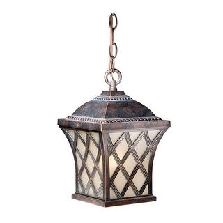 Vaxcel Lighting YS-ODD070 Yorkshire One Light Outdoor Pendant - coffee patina