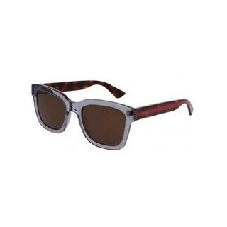Gucci HavanaGrey Mens Sunglasses - GG0001S-005