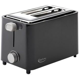 Betty Crocker(R) - Bc-2605Cb - 2 Slice Toaster Blk