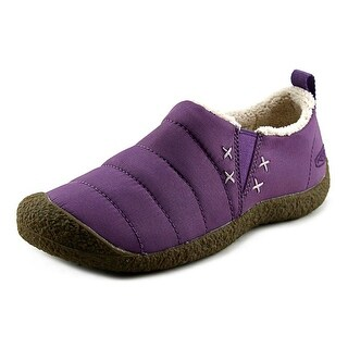 Keen Howser II Women Round Toe Canvas Purple Walking Shoe