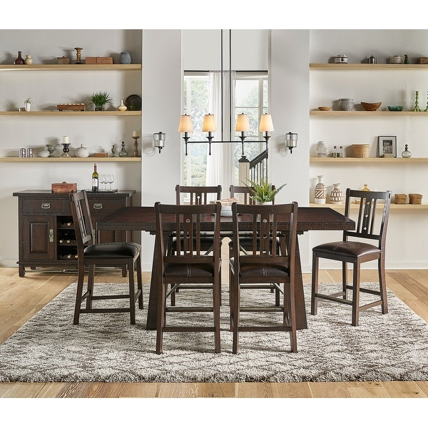 Simply Solid Solana Solid Wood 7-piece Dining Collection. Opens flyout.