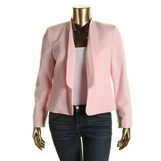 Nine West Womens Open Front Long Sleeves Open-Front Blazer - 6