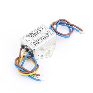 AC 250V 10A Single Phase Noise Suppressor Interchangeable Power EMI Filter