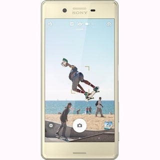 Sony XPERIA X Lime Gold Unlocked GSM - Android Smart Phone - F5121
