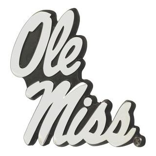 "University of Mississippi (Ole Miss) Emblem - 3""x3.2"""