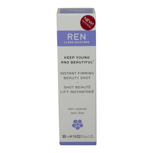REN Skincare Keep Young and Beautiful Instant Firming Beauty Shot - 1 Oz