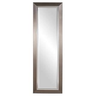 "Howard Elliott 69044 Chicago 54"" x 18"" Brushed Silver Tall Mirror"