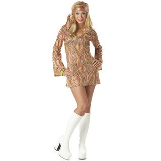 California Costumes Disco Dolly Adult Costume - MultiColor