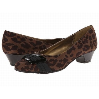Soft Style NEW Brown Shoes Size 7M Leopard Print Ballet Flats