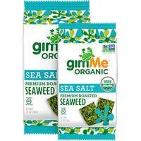 Gimme Organic Roasted - Sea Salt - Case of 12 - 0.17 oz.