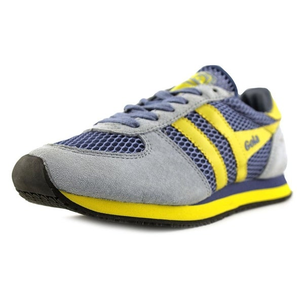 Gola Bullet Women Smoke Blue/Yellow Sneakers Shoes
