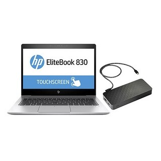"""HP EliteBook 830 G5 Laptop w/ USB-C Notebook Power Bank EliteBook 830 G5"""