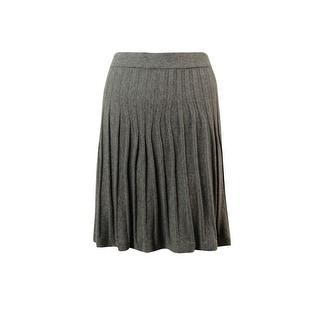 Studio M Women's Dominique Ribbed Knit Skirt