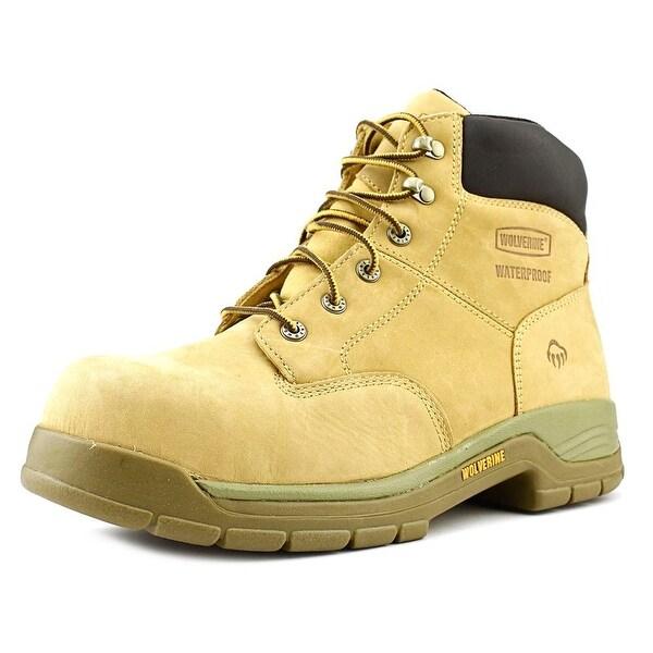 Wolverine Harrison Men Steel Toe Leather Tan Work Boot