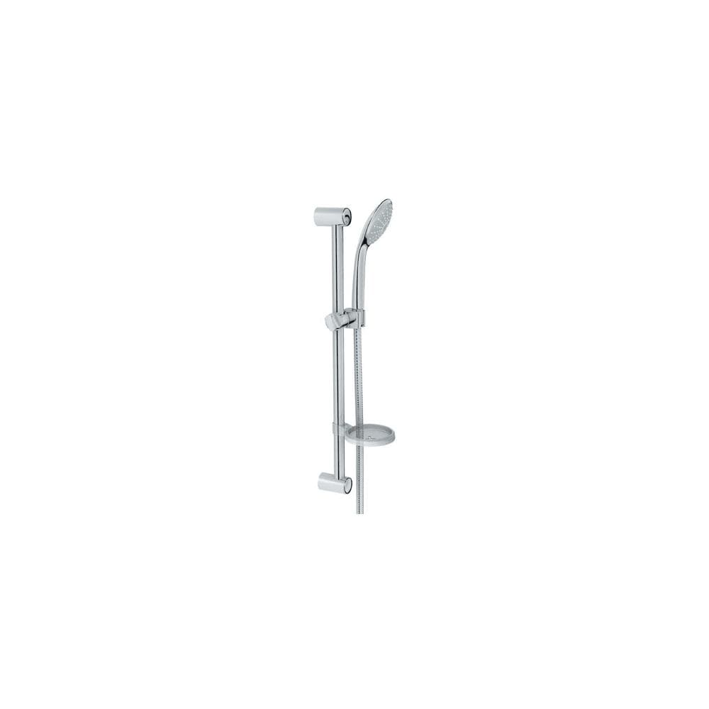 Grohe 27 266 Euphoria Hand Shower Set With 24in Slide Bar 59in Hose And Soap Dish 1 5gpm Watercare