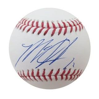 Matt Harvey Autographed MLB Authentic Signed Baseball PSA DNA COA