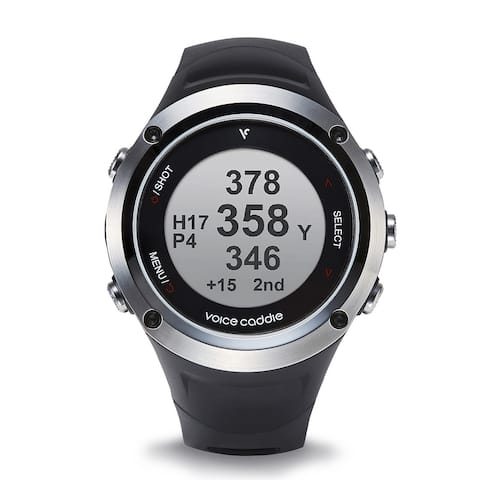Voice Caddie G2 Hybrid Golf GPS Watch with Slope & Fitness