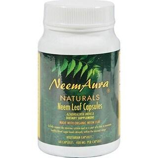 Neemaura Naturals Neem Leaf (60 Veggie Capsules)