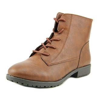 Style & Co Qwinn   Round Toe Synthetic  Ankle Boot