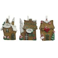 """Pack Of 12 Better Homes & Gardens """"Our First"""" Christmas Ornaments #25402"""
