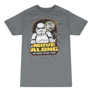 Star Wars Nothing To See Here Men's Grey T-shirt
