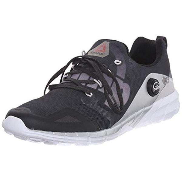 Reebok Womens ZPump Fusion 2.0 Colorblock Pump Running Shoes - 11 medium (b,m)