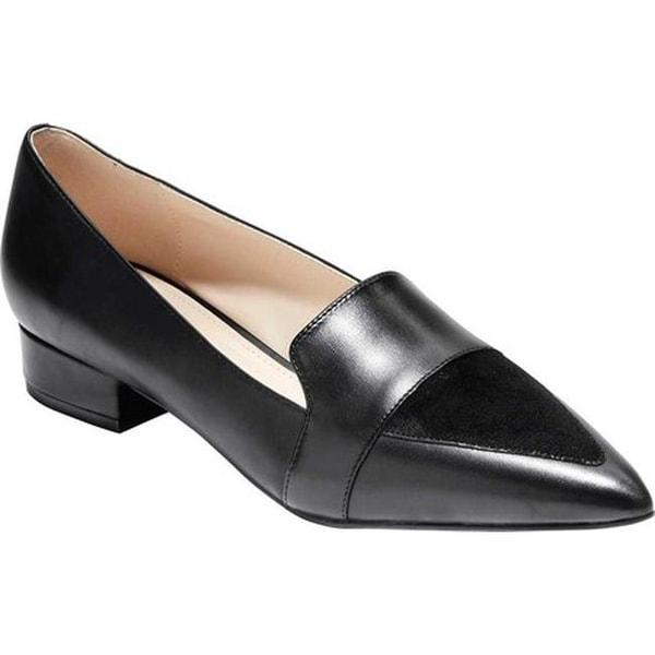 f5c83cda8c2 Shop Cole Haan Women s Marlee Skimmer II Black Leather - Free ...