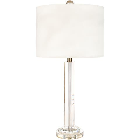 Cash Traditional Crystal 28.5-inch Table Lamp