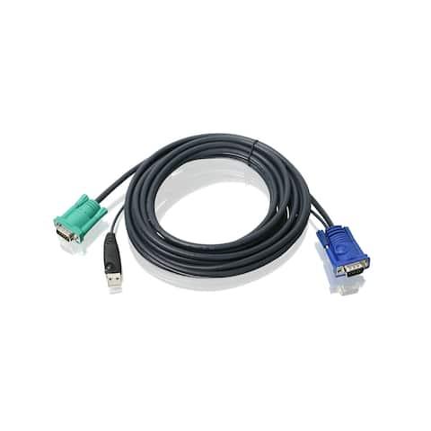 Iogear G2L5205Ub 16ft Usb Vga Kvm Cable Bonded