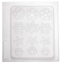 Resin Epoxy Mold For Jewelry Casting - Assorted Flowers