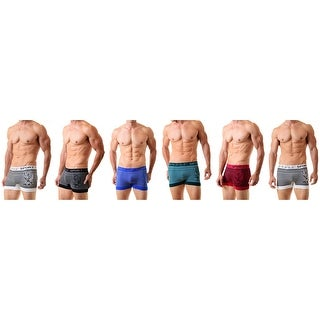 Men's Charizard Seamless Boxer Briefs Classic Shorts Shorts Underwear  6-Pack(One Size)