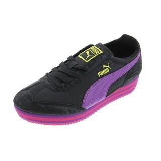 Puma Girls SF77 Platform Fashion Sneakers - 5.5