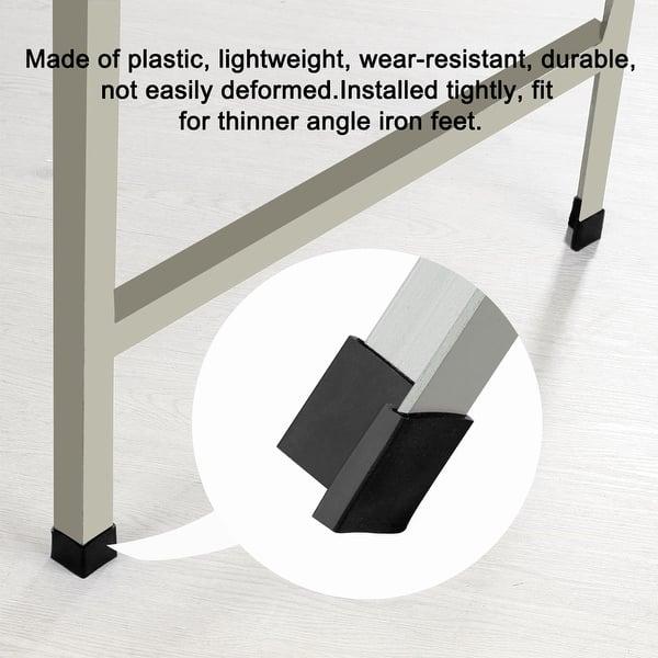 Shop 30mm X 30mm Angle Iron Foot Pad L Shaped Plastic Cap Floor
