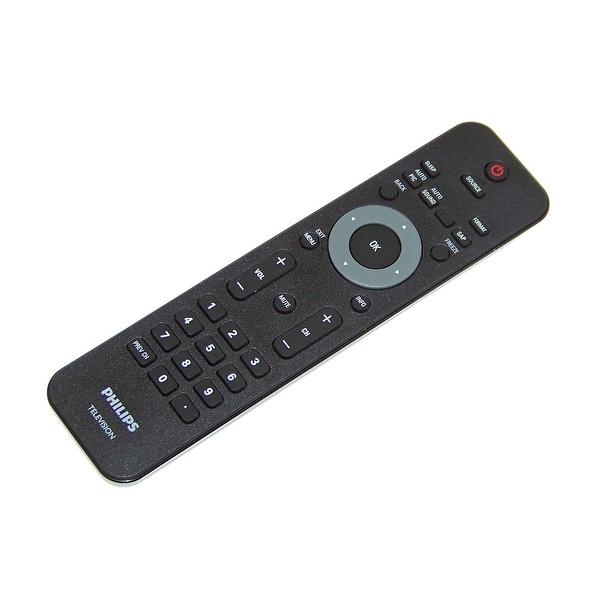 OEM Philips Remote Originally Shipped With: 26PFL4507, 26PFL4507/F7, 19PFL4505D, 19PFL4505D/F7, 46PFL3706