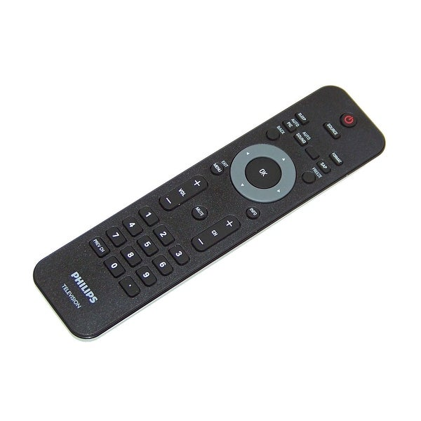 OEM Philips Remote Originally Shipped With: 32PFL1507/F8, 32PFL2507/F8, 40HFL2082D, 40HFL2082D/F7