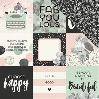 """Beautiful Double-Sided Cardstock 12""""X12""""-4""""X4"""" Elements"""