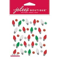 Jolee's Boutique Dimensional Stickers-Holiday Lights