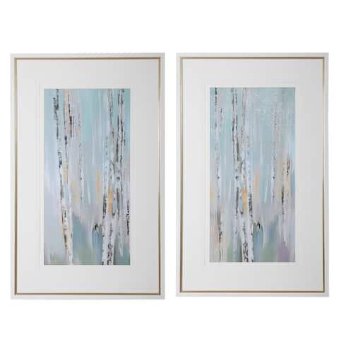 Uttermost Pandora's Forest Abstract Art (Set of 2)