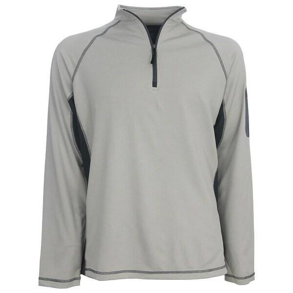 Destinations Men's 1/4 Zip Color Block Golf Pullover, Brand NEW