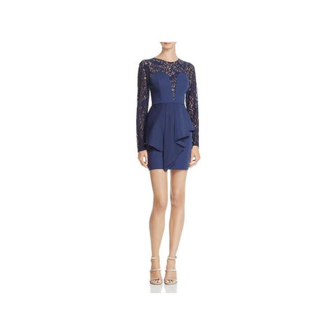 ce75220eaa BCBGeneration Womens Kerrianne Cocktail Dress Mini Lace