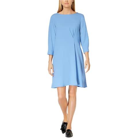 MaxMara Womens Ricerca Shift Dress, blue, 14