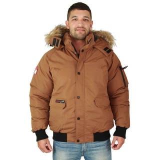 Canada Weather Gear Men's Faux Goose Down Bomber Jacket Coat https://ak1.ostkcdn.com/images/products/is/images/direct/8d1b9c387e8654e43c88566823fd3d7f993efb1a/Canada-Weather-Gear-Men%27s-Faux-Goose-Down-Bomber-Jacket-Coat.jpg?impolicy=medium